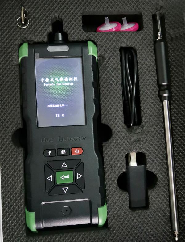 手持泵吸式气体检测仪