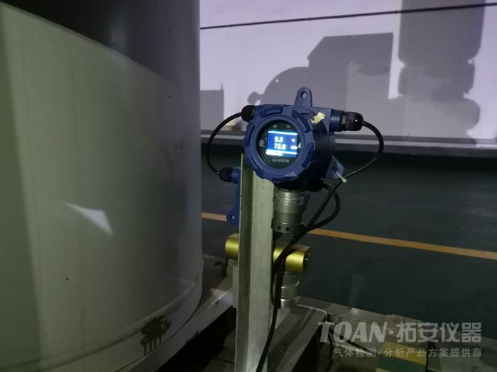 株洲某大型环保公司GIS室六氟化硫检测应用案例-湖南拓安仪器
